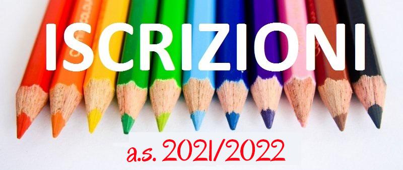 ISCRIZIONI 2021-22